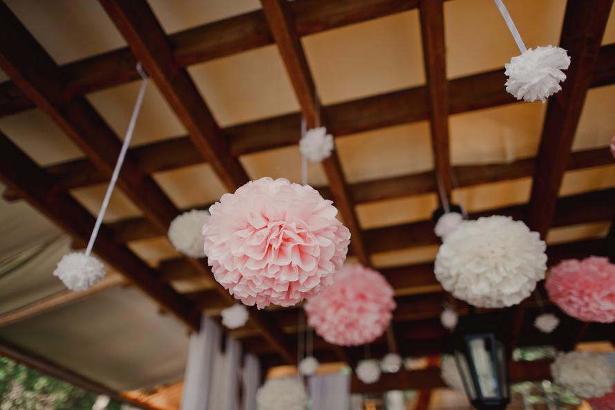 Шар для свадьбы из бумаги своими руками